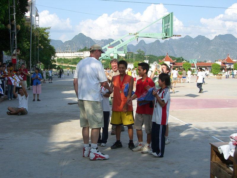 2006 07 20 Thu - 3 on 3 basketball tournament - awards ceremony