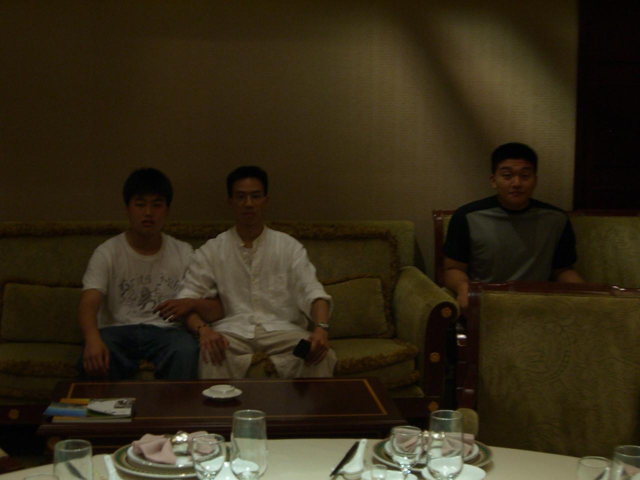 2006 07 14 Fri - Chinese couple & kid photo - Isaac Choi, Ben Yu, & Dan Tung