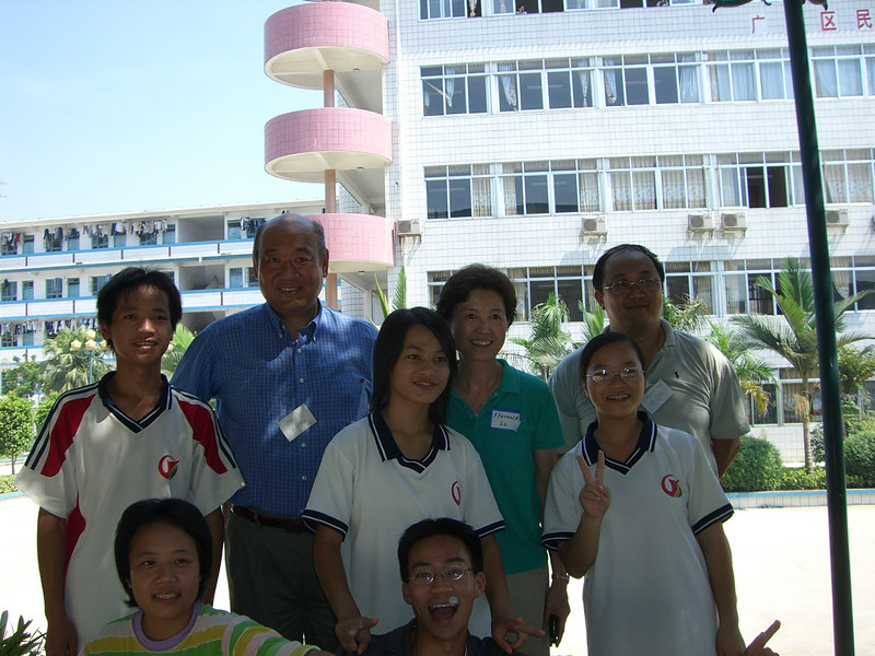 2006 07 24 Mon - Paul, Oscar Wang, Paula, Florence Lo, Mary, CK, Joy, & Ben Yu