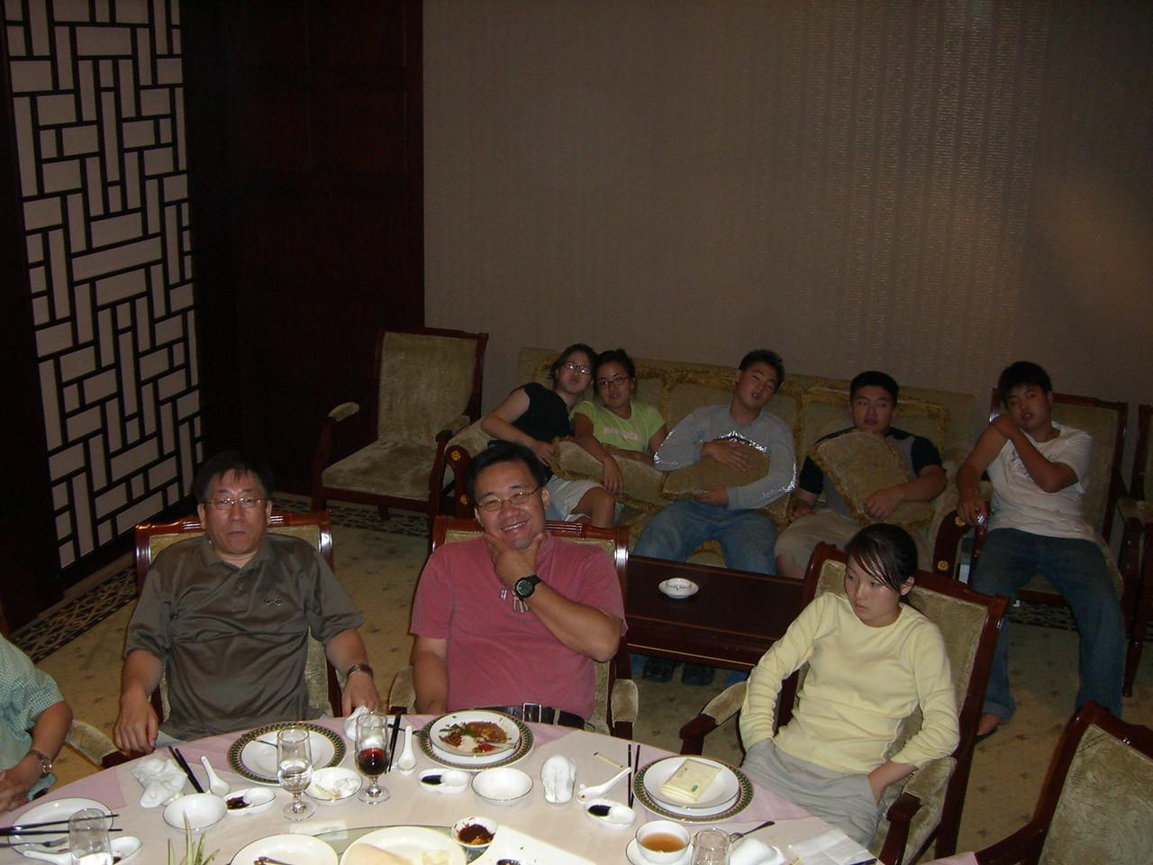 2006 07 14 Fri - Private banquet room 3 - stuffed