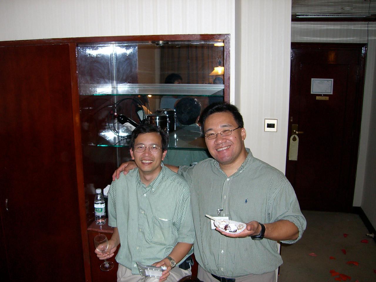 2006 07 15 Sat - Twins Wonjae Kang & Paul Lee