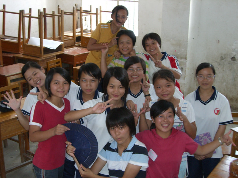 2006 07 24 Mon - Class girls - Grace, Joy, Esther, Faith, Hannah, Anna, Paula, Rose, Joanna, Mary, Diana, Angela