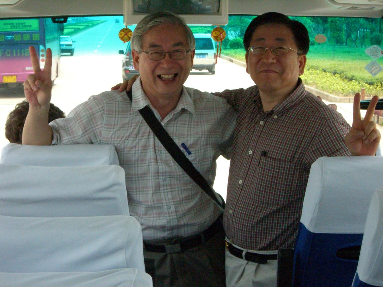 2006 07 13 Thu - Chinese & Korean twins Alfred Ng & Baxon Kim