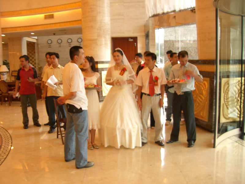 2006 07 15 Sat - Random wedding in Yong Jiang Hotel