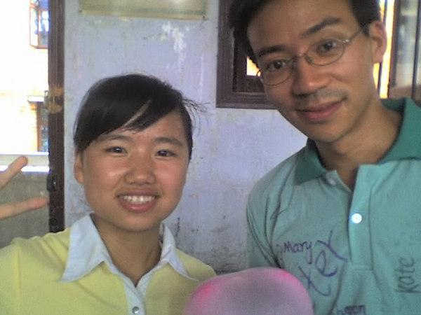 2006 08 08 Tue - Last class hangout - Leslie & Ben Yu