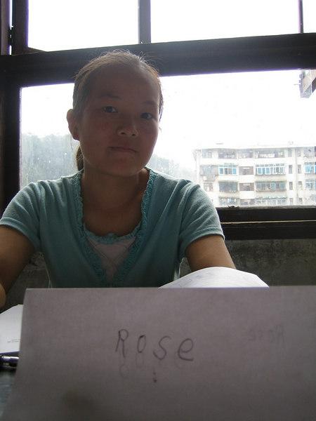 2006 08 02 Wed - Profile pic - Rose