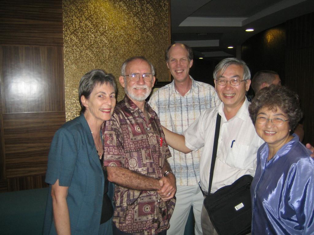 2006 07 28 Fri - Silver & Grenen Thomas, Phil Arnold, Alfred & Alsie Ng