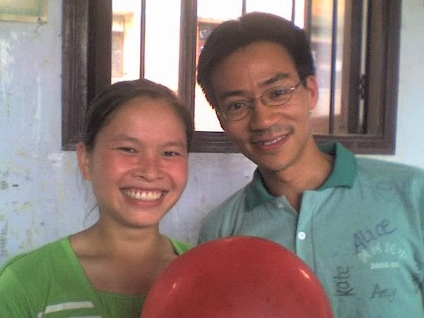 2006 08 08 Tue - Last class hangout - Kate & Ben Yu