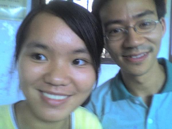2006 08 08 Tue - Last class hangout - Amy & Ben Yu 2