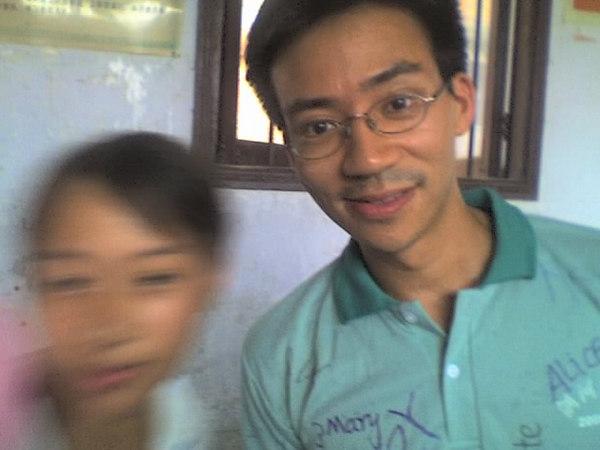 2006 08 08 Tue - Last class hangout - Blurry Angin & Ben Yu