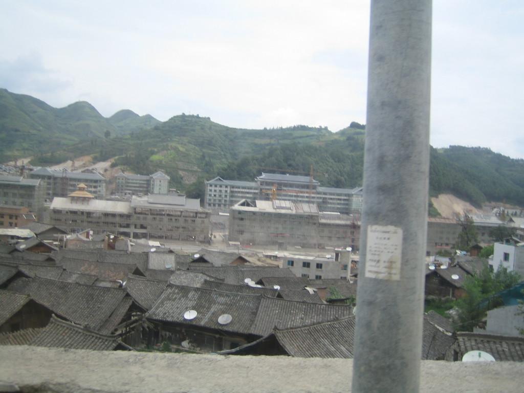 2006 07 30 Sun - New Jian He construction 2