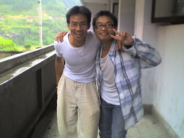 2006 08 06 Sun - Ben Yu & John