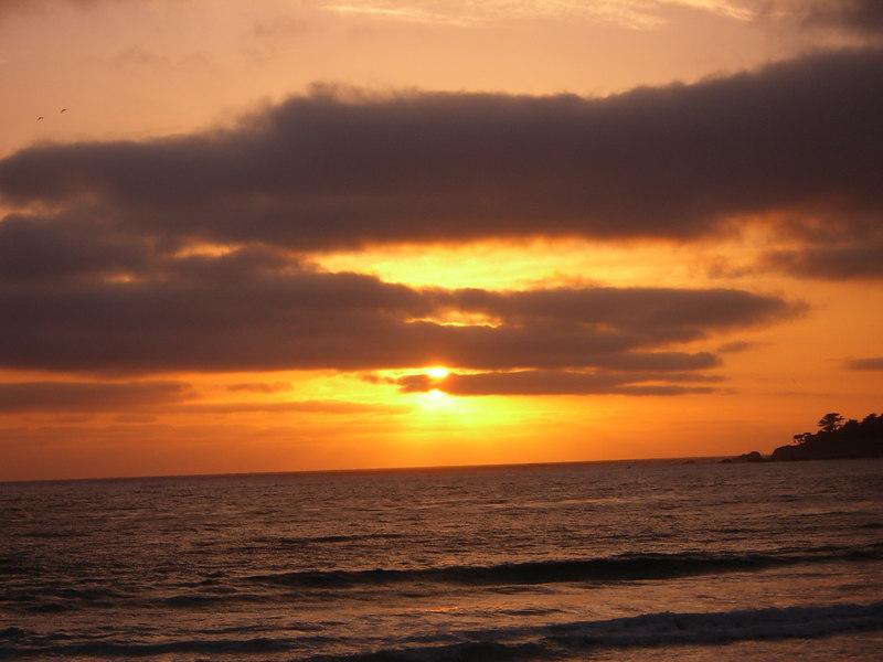 2006 04 20 Thu - Sunset on 'sunset' setting 2