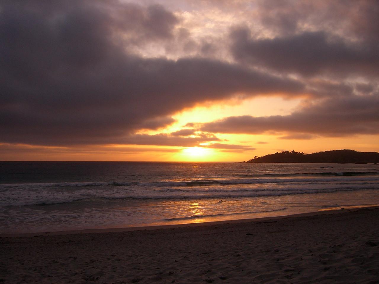 2006 04 20 Thu - Sunset on 'sunset' setting 1
