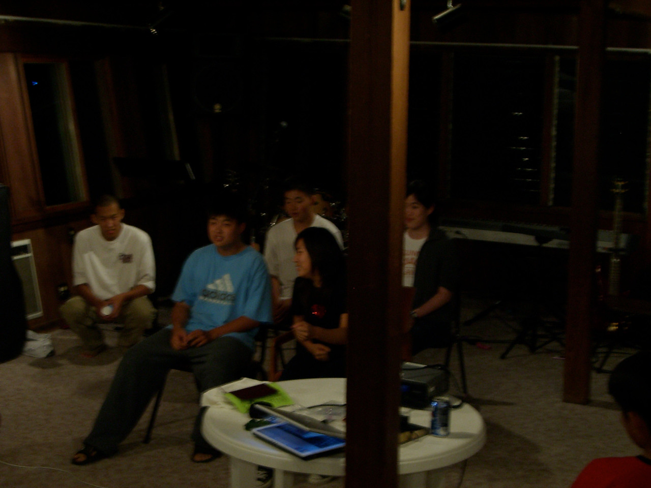 2006 07 08 Sat - Shinae Kim needs to poop while driving Isaac Choi, Philip Lee, & Angela's cousin