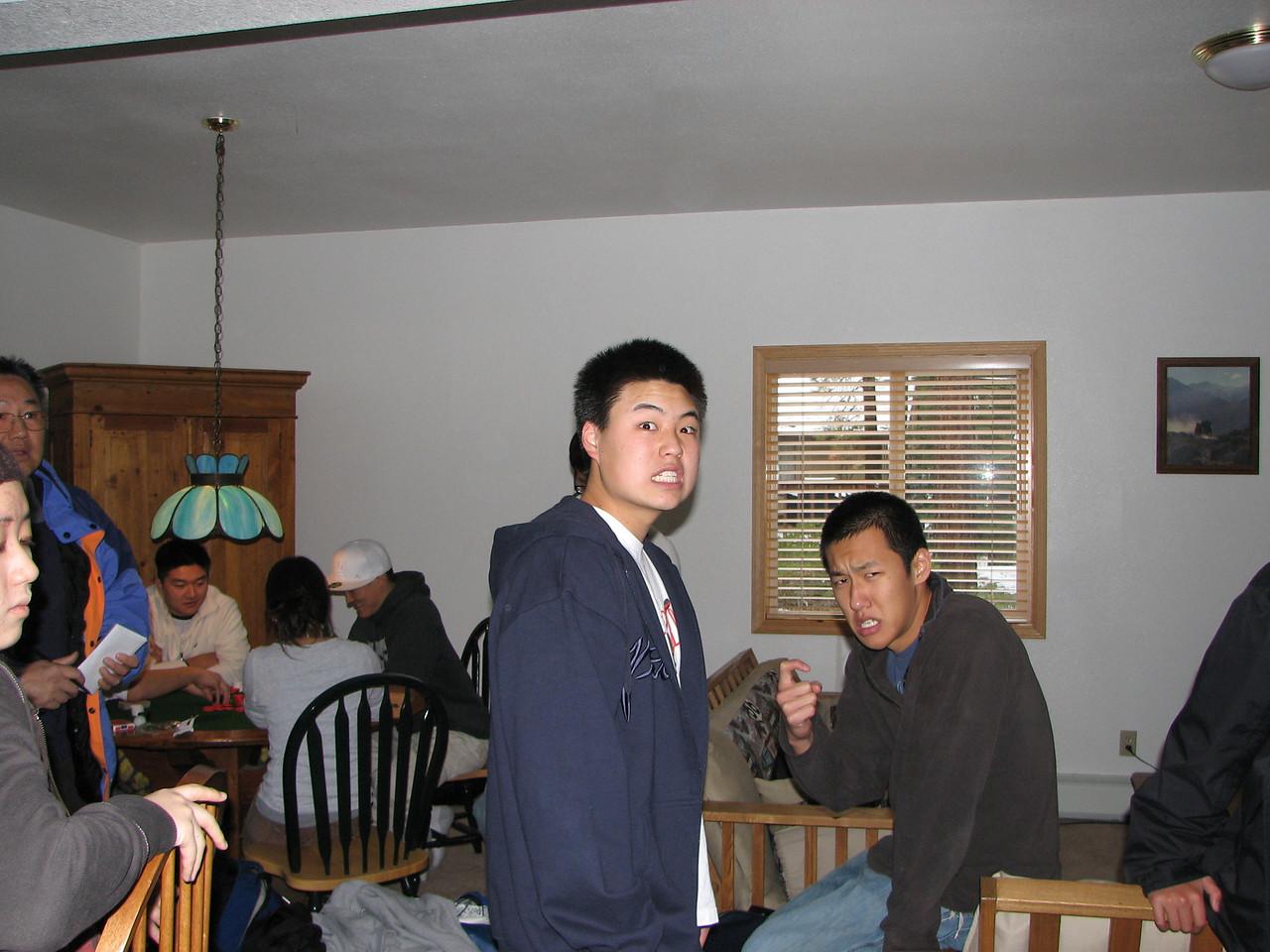 2006 12 20 Wed - Isaac Choi & Doug Kang search for trademark poses
