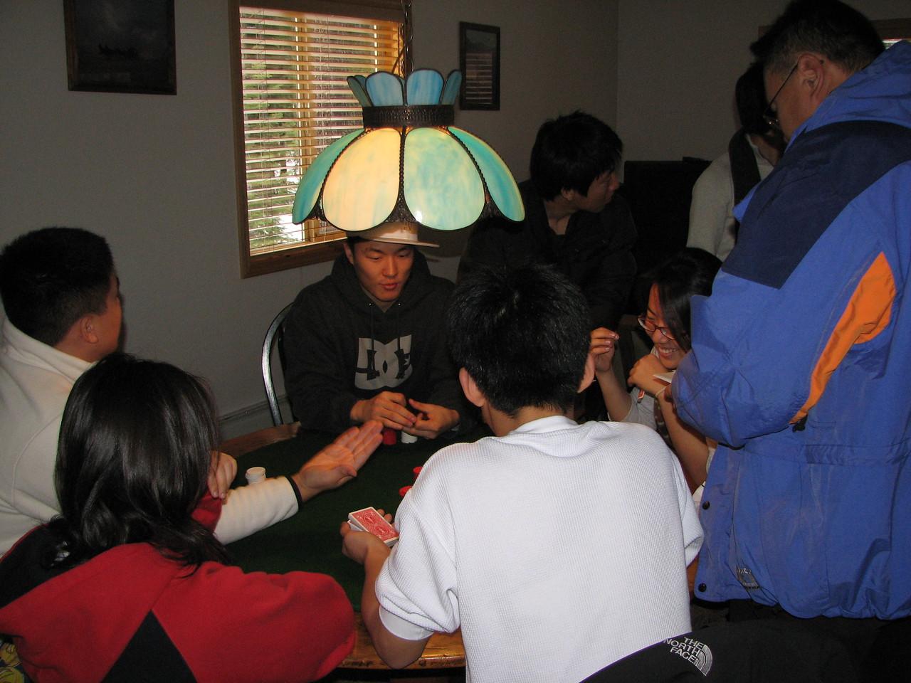 2006 12 20 Wed - Dan Tung, Angela Hsu, Ted Hong, Jay Lee, Shinae Kim, & Soojin Choi gamble
