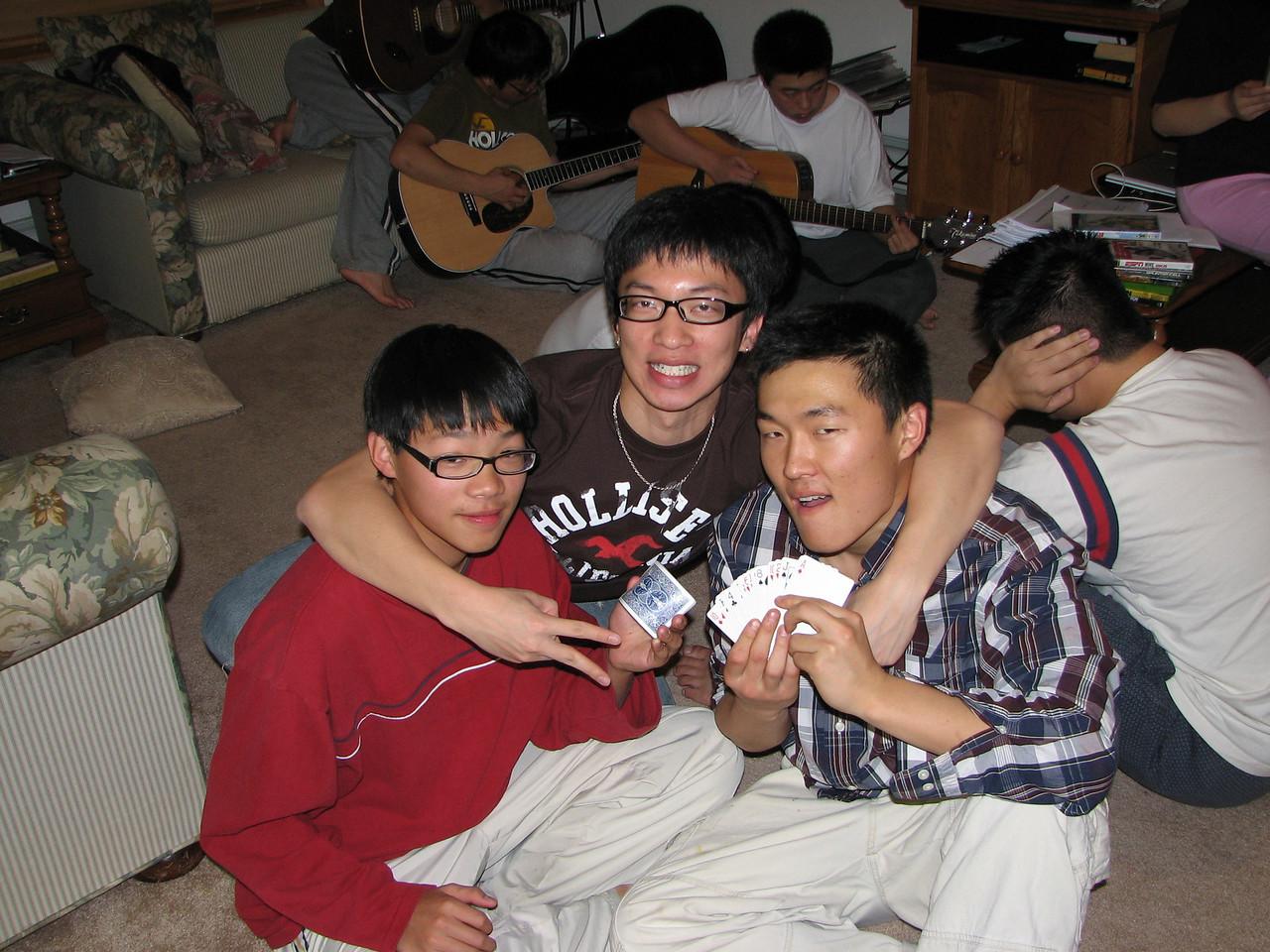 2006 12 22 Fri - Jeremy Hsu, Jimmy Lee, & Ted Hong