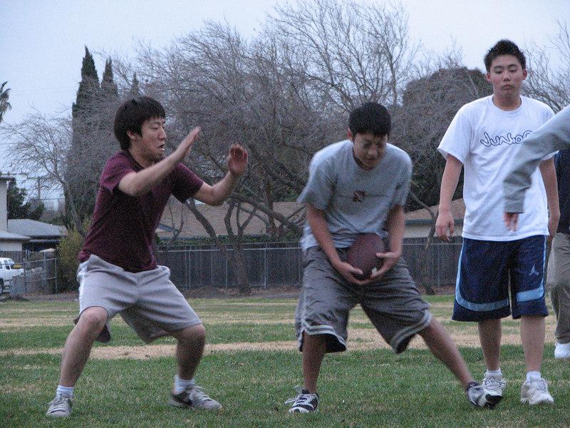 2006 12 31 Sun - Junghan Kim swatting