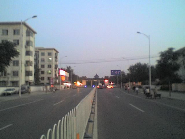 2006 08 15 Tue - Temple of Heaven from street towards Forbidden City