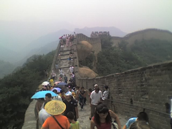 /Users/benyu/Pictures/2006 08 18 Fri - Ba Da Ling section of The Great Wall - Tourists & wall 4
