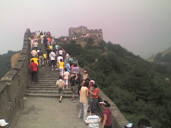 /Users/benyu/Pictures/2006 08 18 Fri - Ba Da Ling section of The Great Wall - Tourists & wall 3