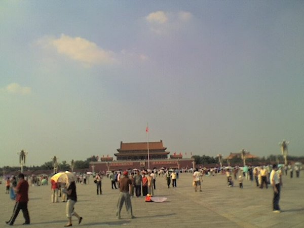 /Users/benyu/Pictures/2006 08 15 Tue - View of the gate from Tiananmen Square - Do NOT forget June 4, 1989