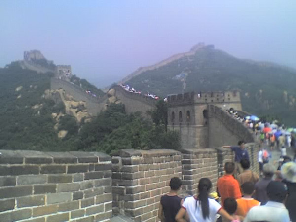 /Users/benyu/Pictures/2006 08 18 Fri - Ba Da Ling section of The Great Wall - Tourists & wall 2