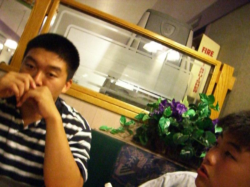 2006 06 27 Tue - Dan Tung & Isaac Choi @ Denny's