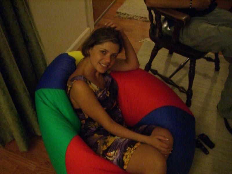 2005 08 31 Wed - At small group - Jonika Hoomes