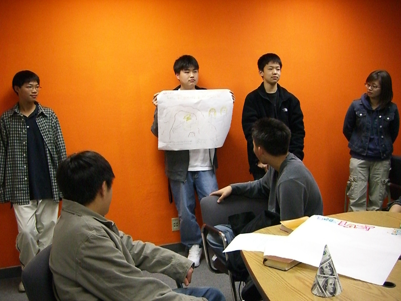 2006 03 17 Fri - Youth Group posters - Jeremy, Isaac Choi, Jay, & Soyeon Park 2