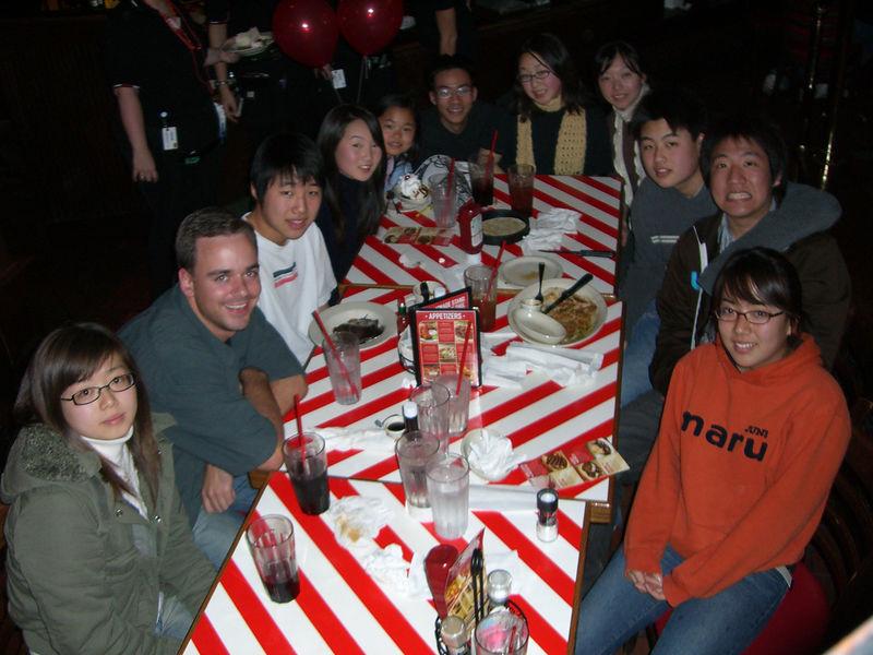 2006 01 14 Sat - Music Worship Team dinner @ TGIF's - Group pic