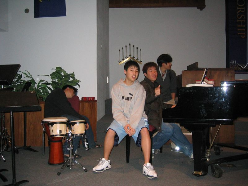 2005 02 11 Friday - post Youth Group jam