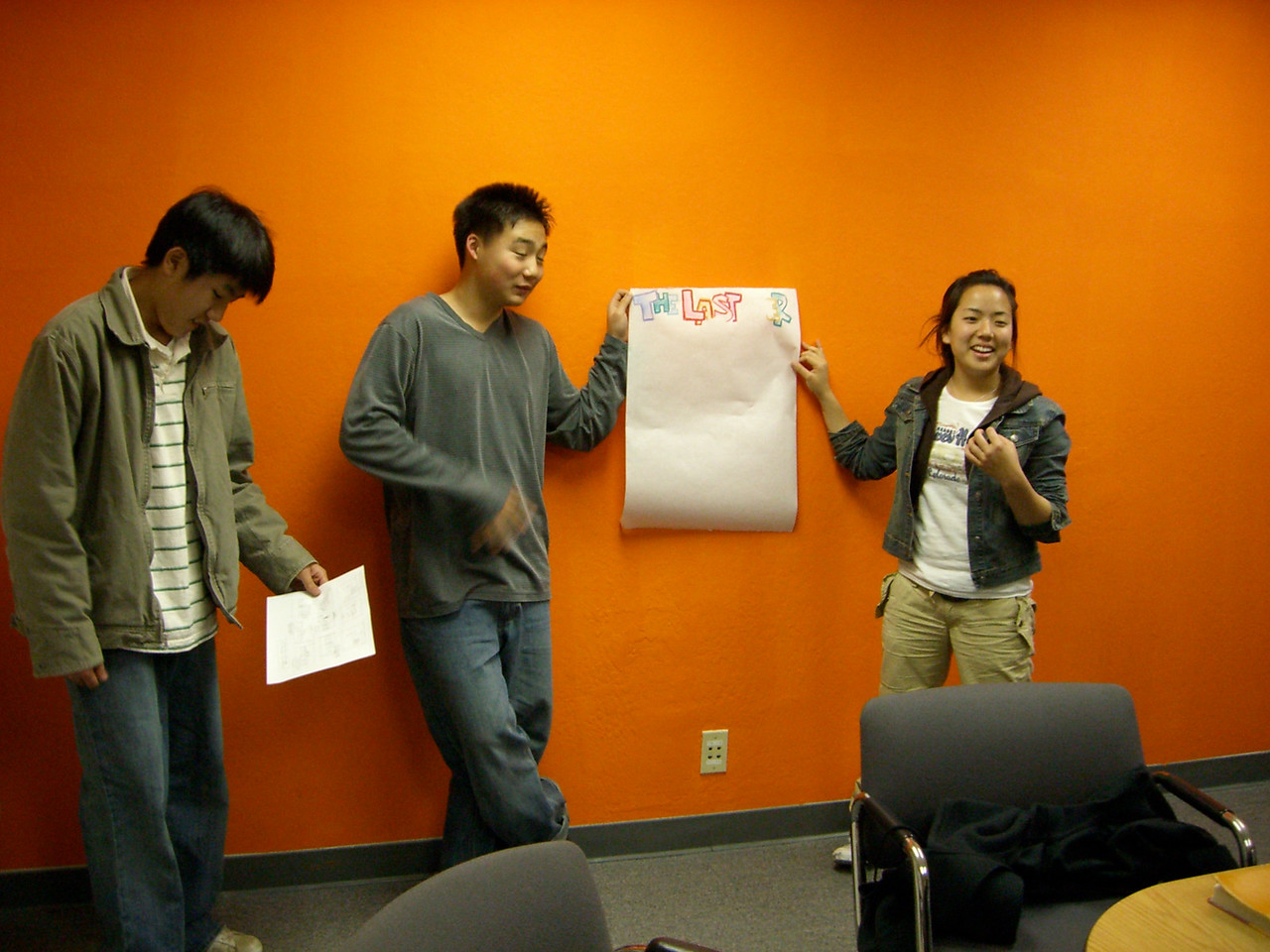 2006 03 17 Fri - Youth Group posters - Paul Kang, Philip Lee, & Shinae Kim 2