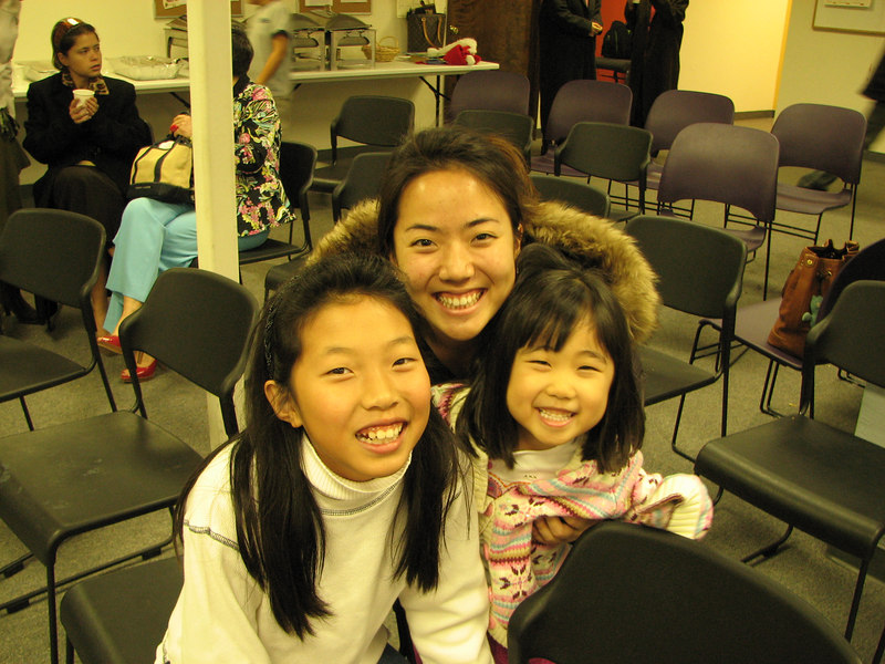 2006 12 24 Sun - Connie Song, Shinae Kim, & Alicia Pak @ church