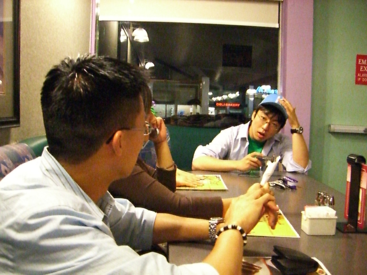 2006 06 27 Tue - Ben Yu & James Lee @ Denny's