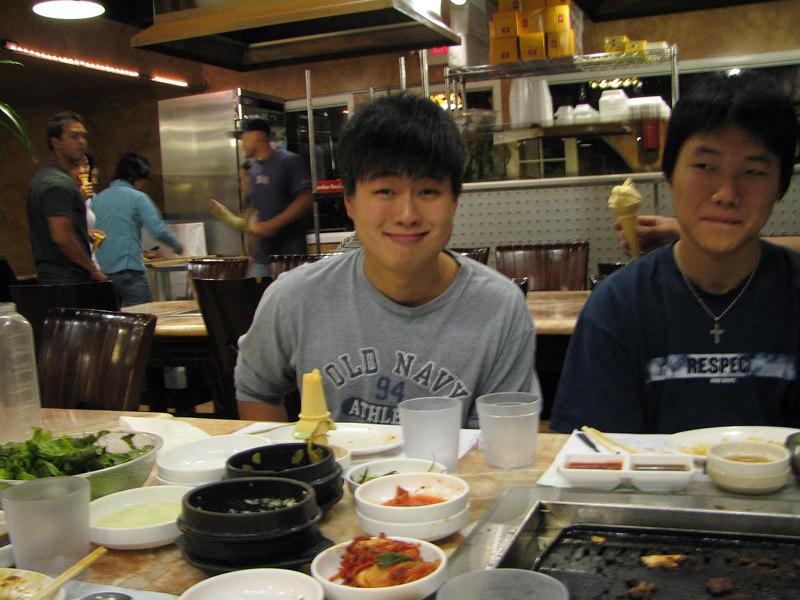 2006 09 15 Fri - Goofballs Isaac & Mark Choi 1
