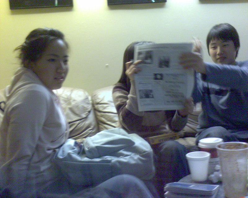 2006 04 02 Sun - Mark & Isaac Choi, Soyeon Park, Shinae Kim, & Ben Yu @ Coffee Society 1