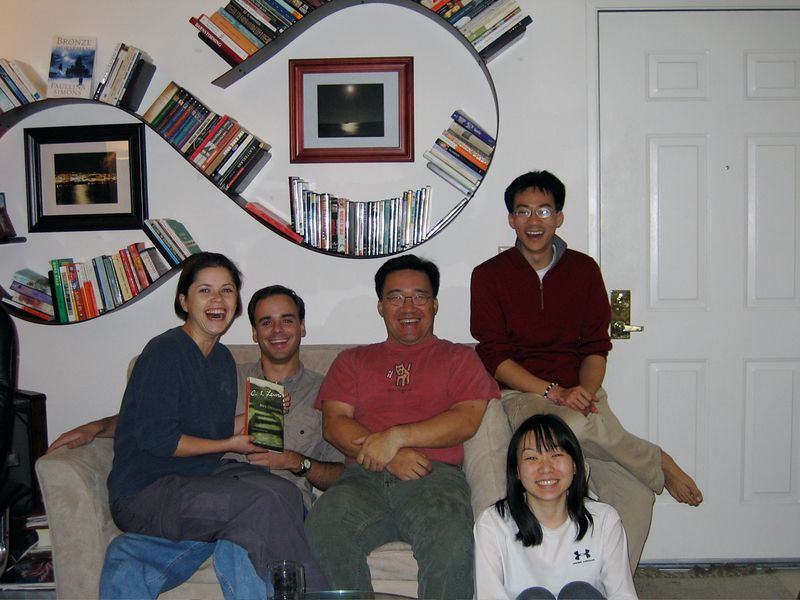 2005 02 02 Wednesday - Mustard Seed small group @ Hoomes'
