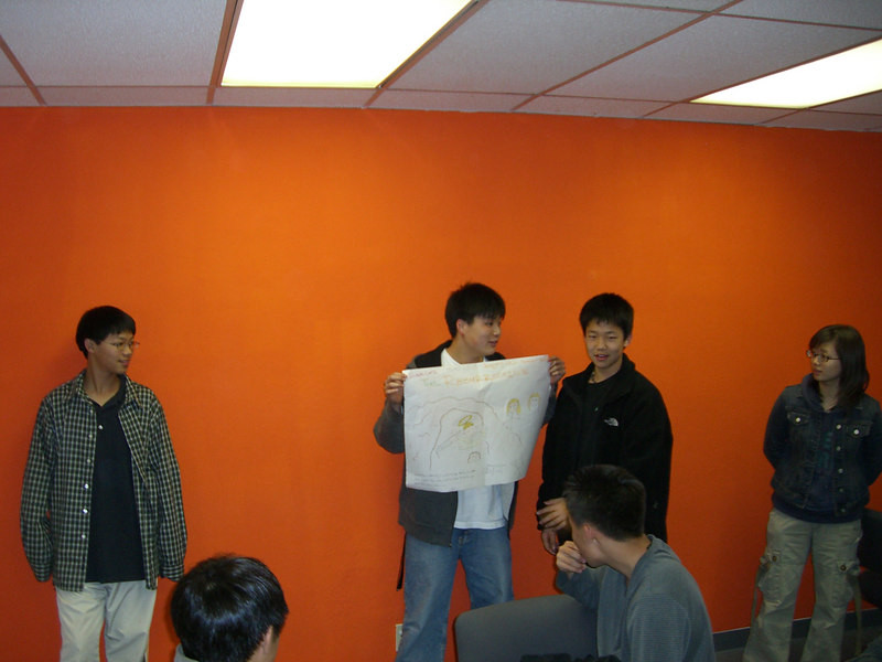 2006 03 17 Fri - Youth Group posters - Jeremy, Isaac Choi, Jay, & Soyeon Park 1