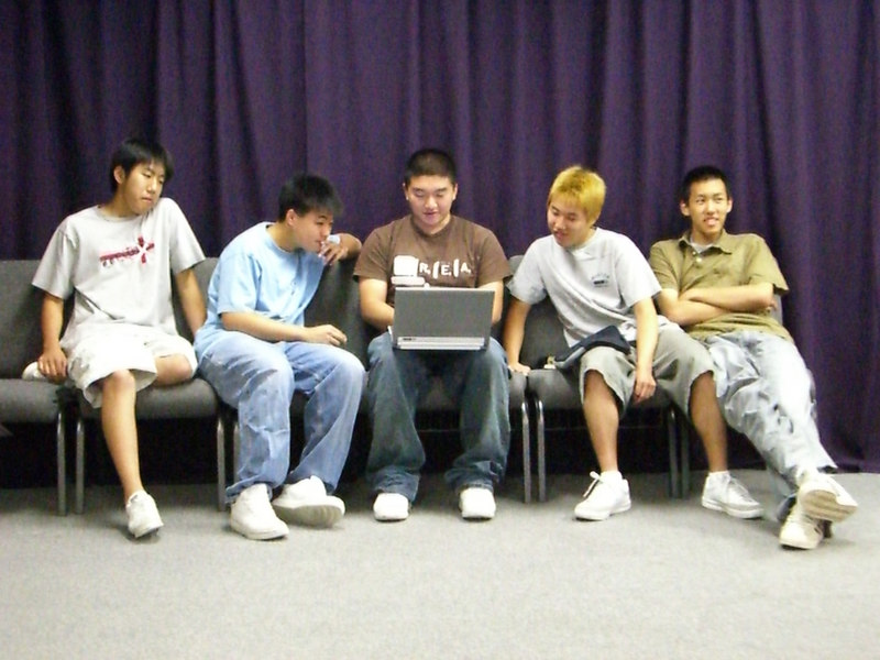 2006 06 25 Sun - Paul Kang, Isaac Choi, Dan Tung, Mark Choi, & Doug Kang 1