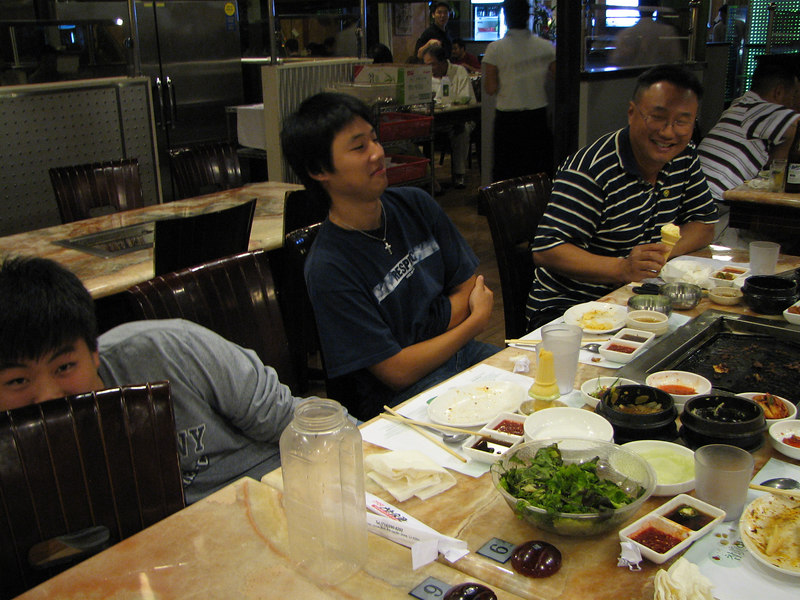 2006 09 15 Fri - Goofballs Isaac, Mark, & Soojin Choi 2