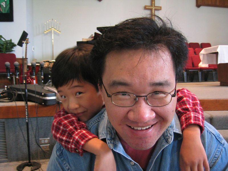 2005 04 03 Sunday - Pastor Paul & Seth Lee