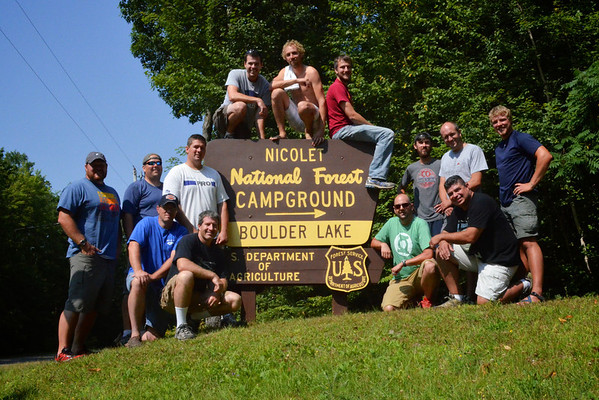 2013 Cornerstone Whitewater Rafting Trip