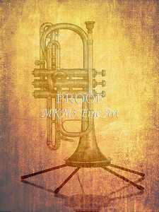 Antique Cornet in Color 108.2061