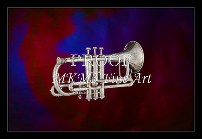 Sheppards Crook Cornet in Color 116.2064
