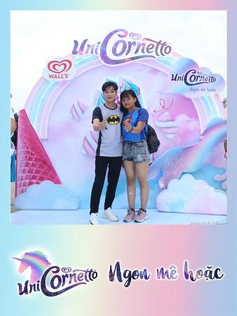 Cornetto Activation Photo Booth - WefieBox Photobooth Vietnam - Chụp hình & in ảnh lấy liền Toàn Quốc