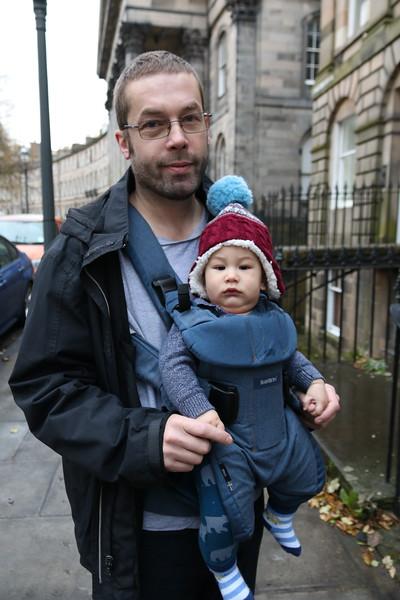 Dave and Hamish, Edinburgh