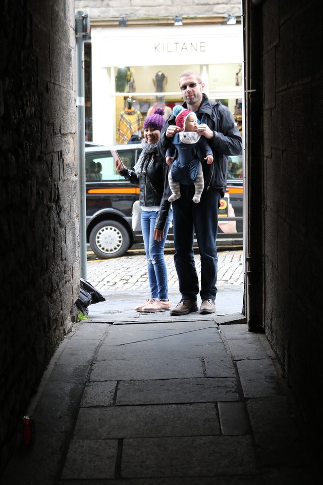 Alley off the Royal Mile