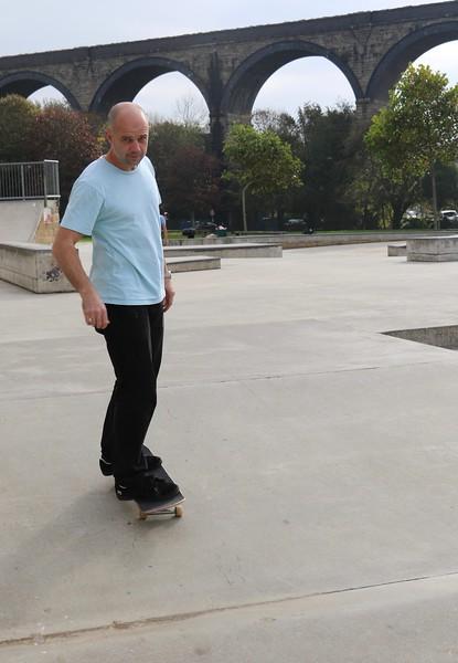 Dad can still skate